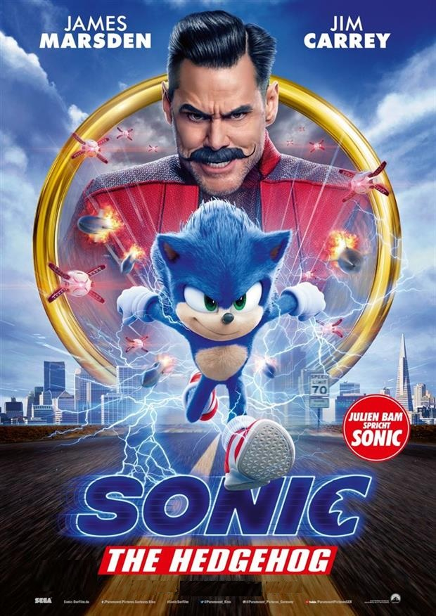 SONIC-THE HEDGEHOG